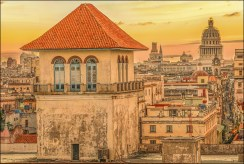 Old Havana rooftop - Ian Smith