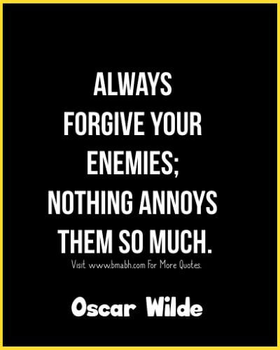 Funny and inspirational forgiveness quotes by famous people