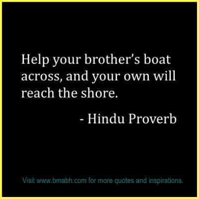 Inspirational Brother Quotes Pictures at www.bmabh.com #Proverb