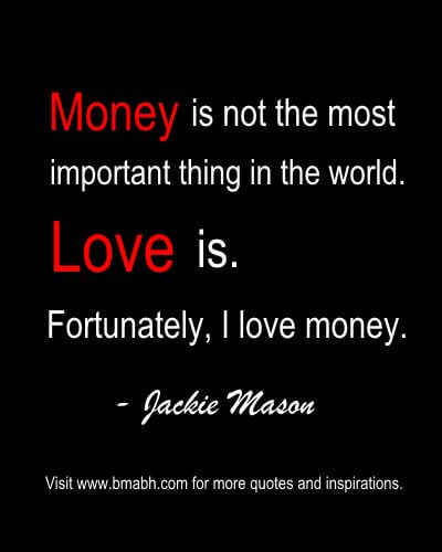 funny money quotes about love