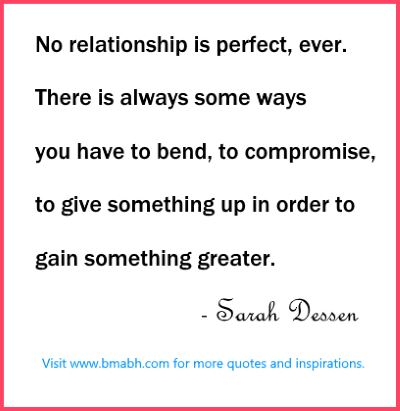 Cute Relationship Quotes about perfect relationship