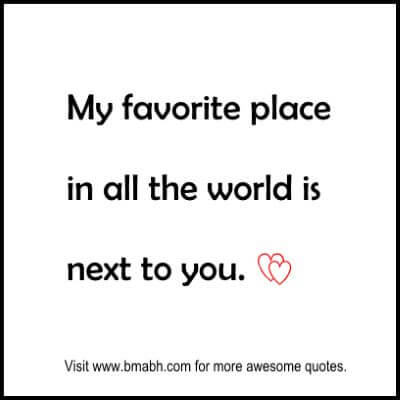 Cute Relationship Quotes on www.bmabh.com.#favorite place