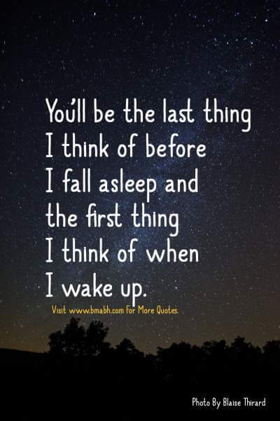 Inspirational Goodnight Quotes For Him Or Her Bmabhcom