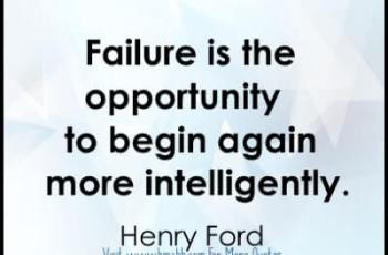 Inspirational quotes about new beginnings image from www.bmabh.com -Failure is the opportunity to begin again more intelligently