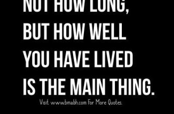 Famous Life Quotes And Sayings