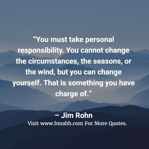 Inspirational Quotes About Accepting Responsibility