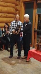 Frank Puckett - Carpe Diem award