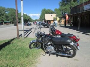 Georges bike at Riverside