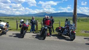 bikes at Rand stop
