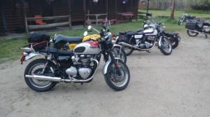 bikes at cabins
