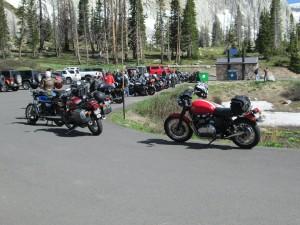 lineup at Snowy Ridge