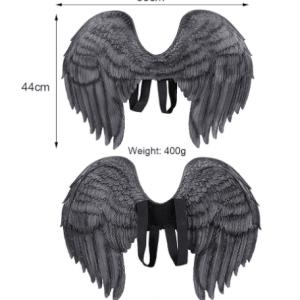כנפיים מלאך לבן PU