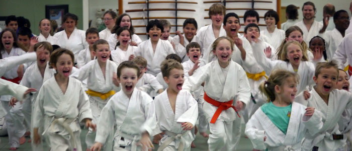 Kids Running- Children's martial arts