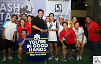 Metrobank bested other finalists to become champion of the Gold Cup level.