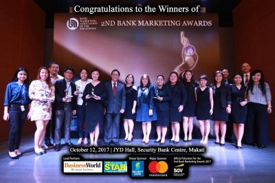 2nd Bank Marketing Association of the Philippines Awards
