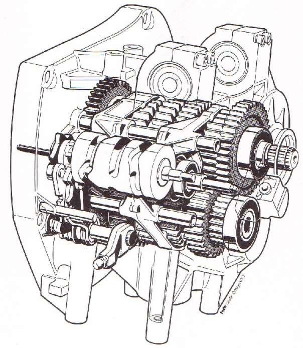 BMW K Series Mechanical Photos