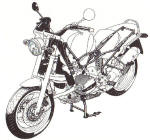 BMW R1100/1200 Mechanical Photos