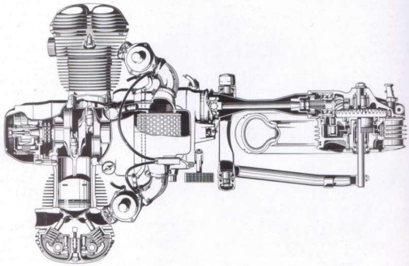 BMW R Series Mechanical Photos