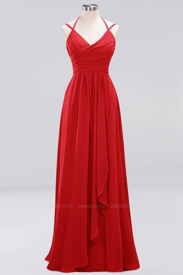 red,bridesmaid,dresses