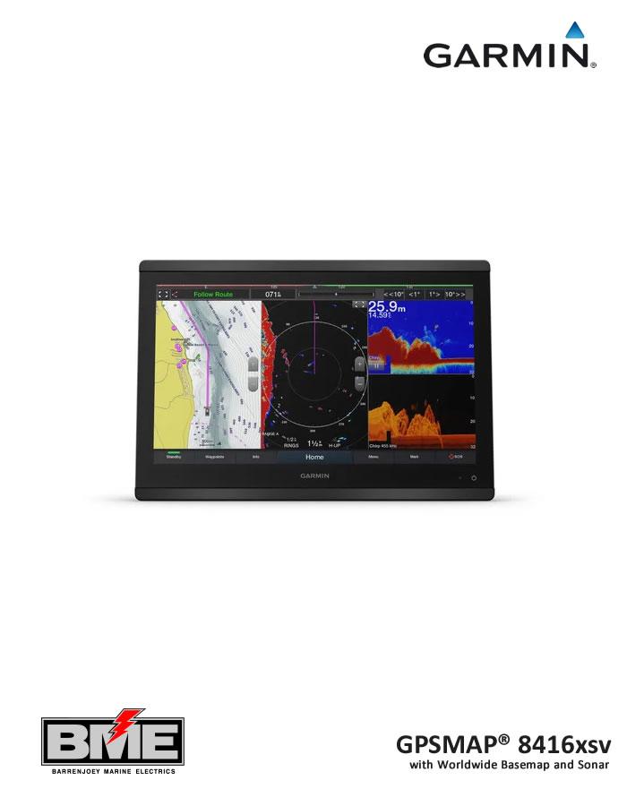 Garmin GPSMAP® 8416xsv Chart Plotter Display