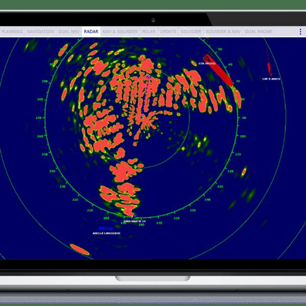 TimeZero TZ Professional full radar