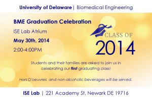 BME Graduation Celebration Invitation
