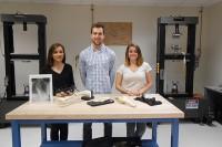 BME senior design team creates unique STEM materials