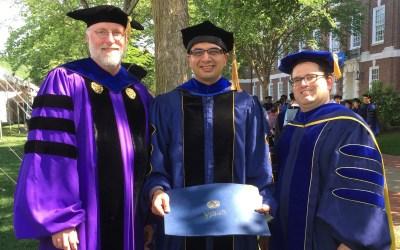 BME Graduates First PhD Student
