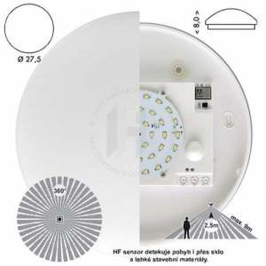 HF Victor W131 360°9m s LED