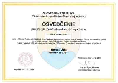 certifikát_fotovoltika_bmelektro