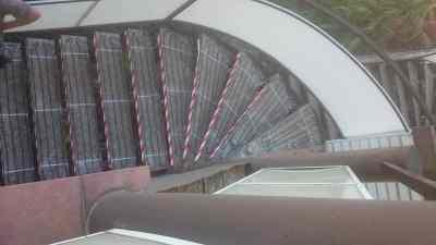 rozmrazovanie schodov