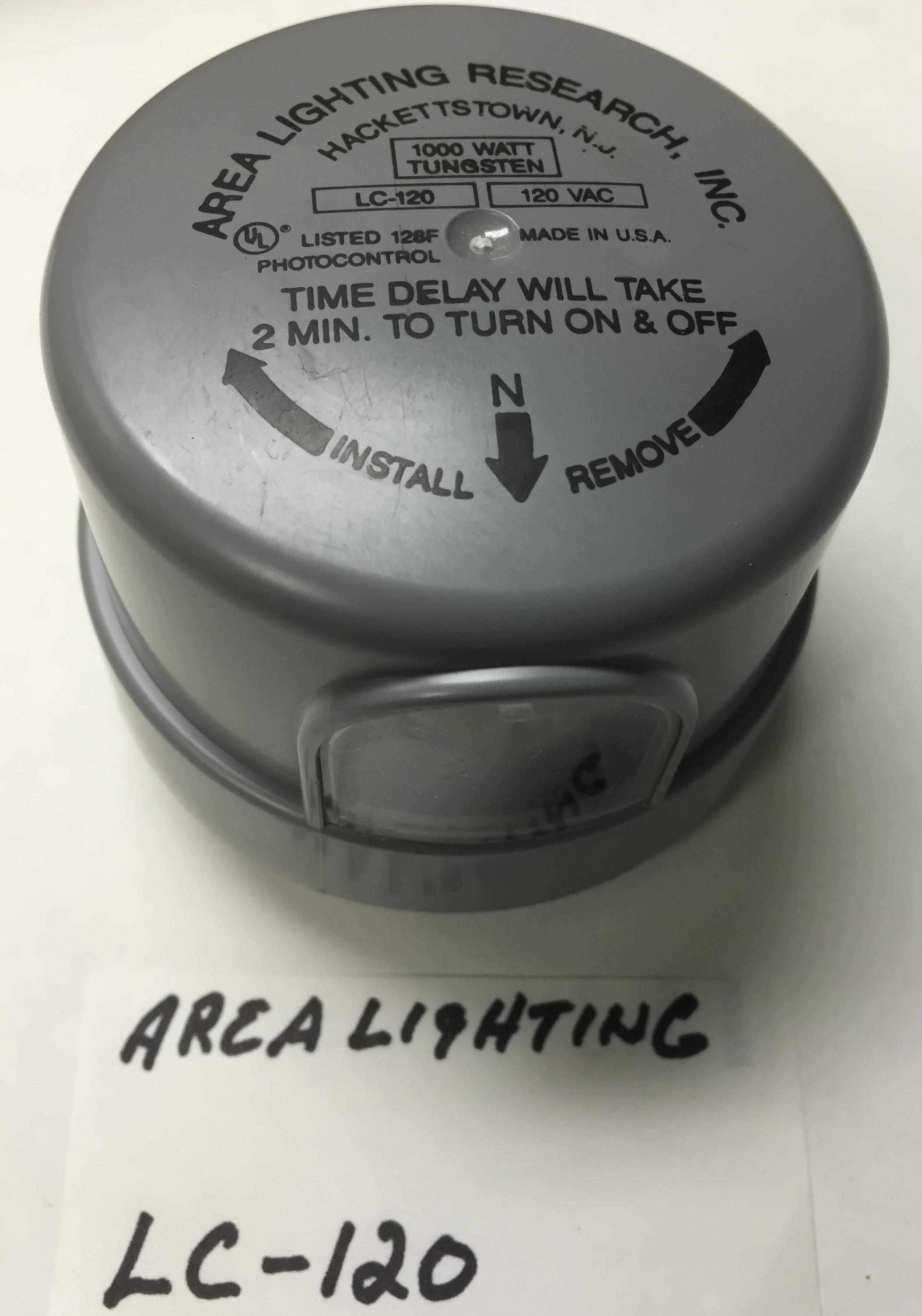 photo control area lighting lc 120