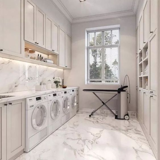 organizzare la lavanderia