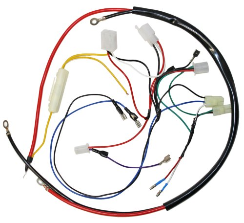 small resolution of engine wiring harness for gy6 150cc engine 05711a bmi karts and gy6 150 wiring harness