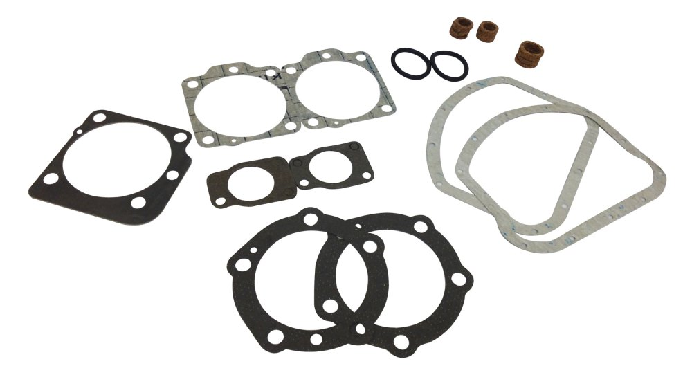 medium resolution of top end gasket set for harley davidson ohv panheads 1948 54 17028 48 bmi karts and parts