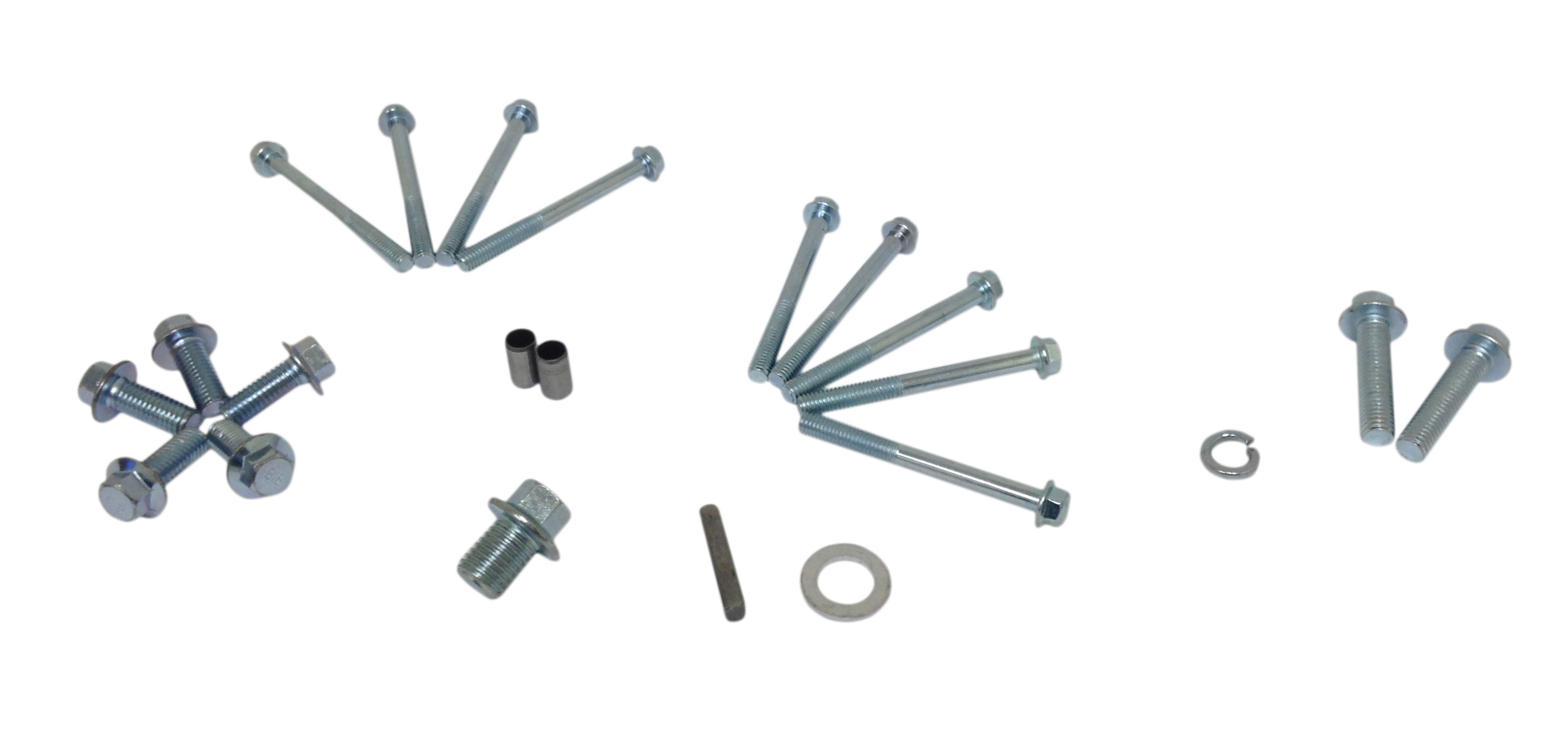 Screw and Key Kit for 2:1 Reduction Gearbox for Honda 6
