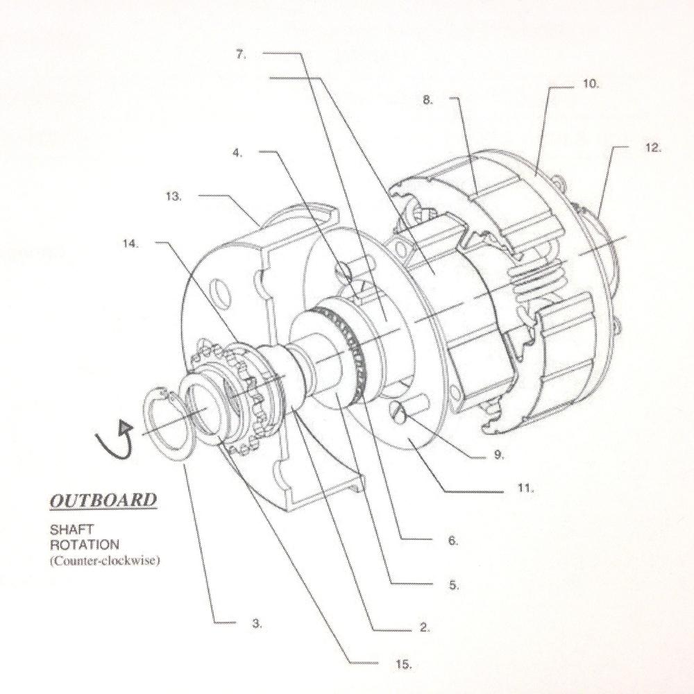 Titan Mini-Cup Clutch Replacement Parts
