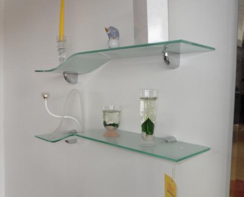 Mensole in vetro art 262 in occasione  Outlet mobili e