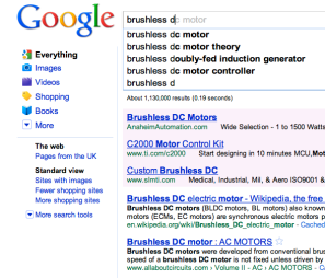 Google Instant - whipping up a storm