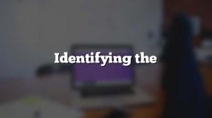 Identifying the