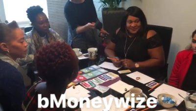 Parents play bmoneywize game