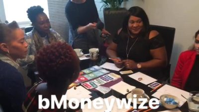 Parents play bmoneywize game