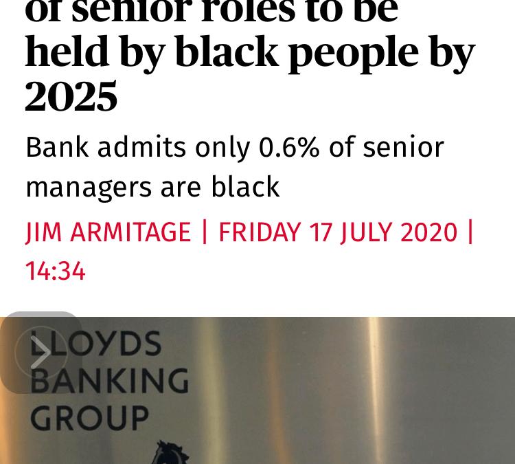 More black people in senior roles?
