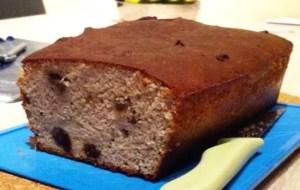 Le cake bananes raisins secs Johan F.