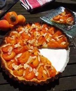 Tarte à l'abricot Paléo 1