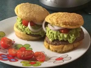 Le burger Paléo de Zabou
