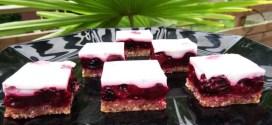 Petits carrés Paléo aux fruits rouges 8