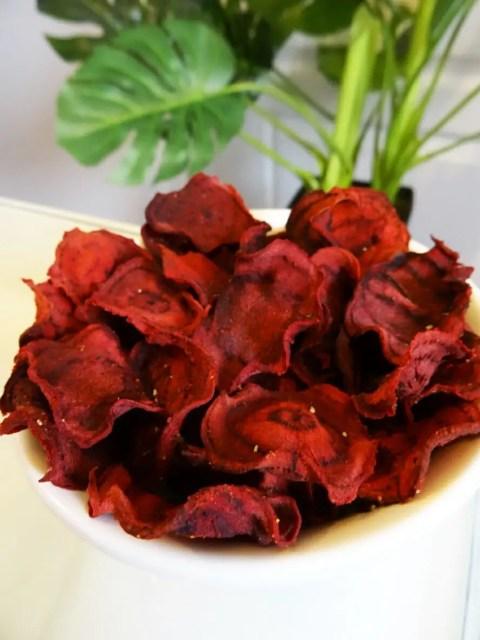 Chips de betteraves rouges Paléo 1