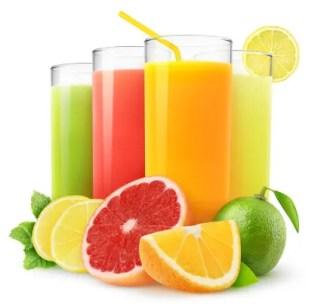 perdre la graisse du ventre en évitant les jus de fruits