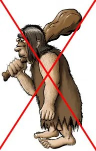 no-caveman